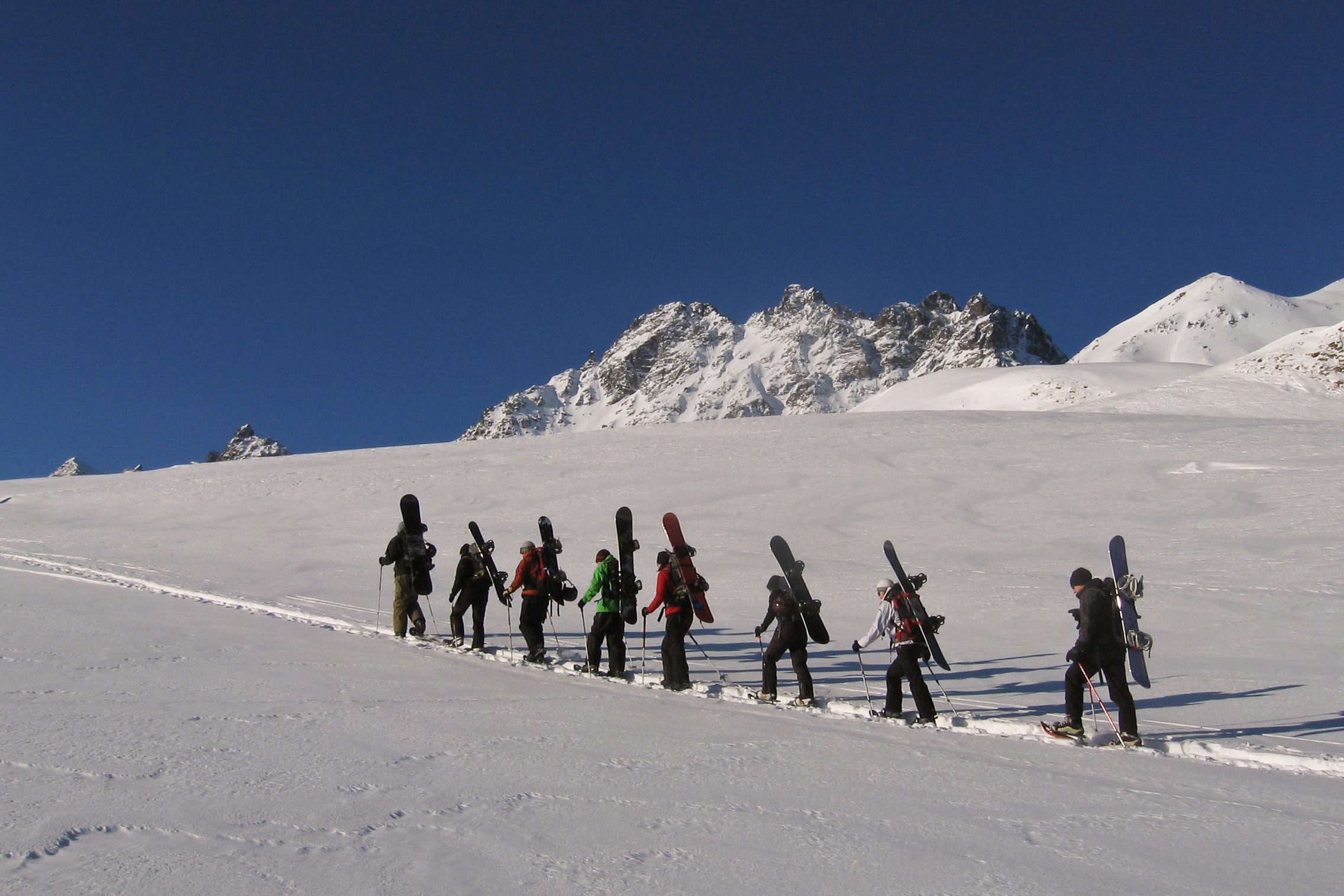 Snowboardtour Silvretta